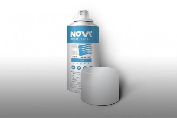 Клей мебельный спрей. NOVA aero